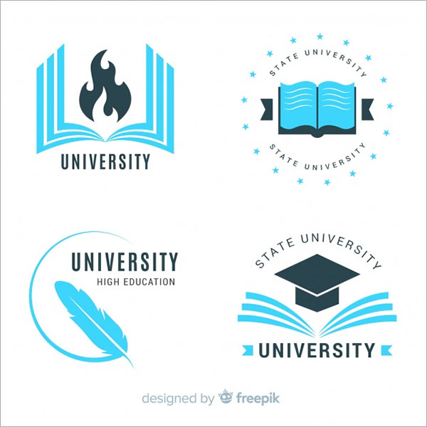 Free Vector School Logos Template