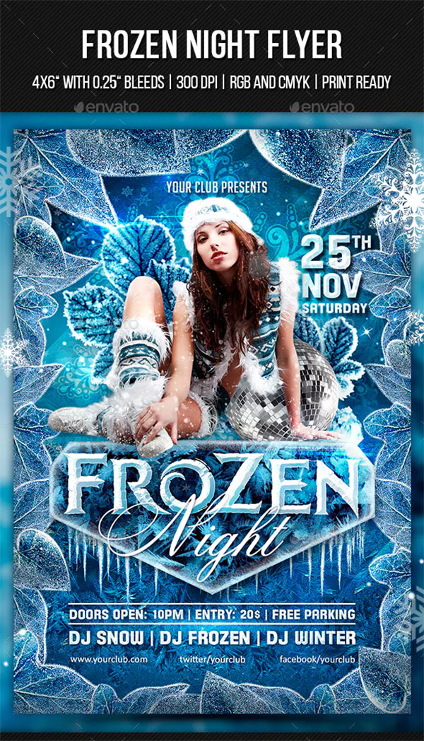 Frozen Night Flyer