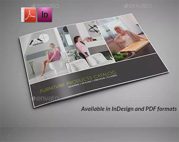 Furniture Products Catalog Brochure