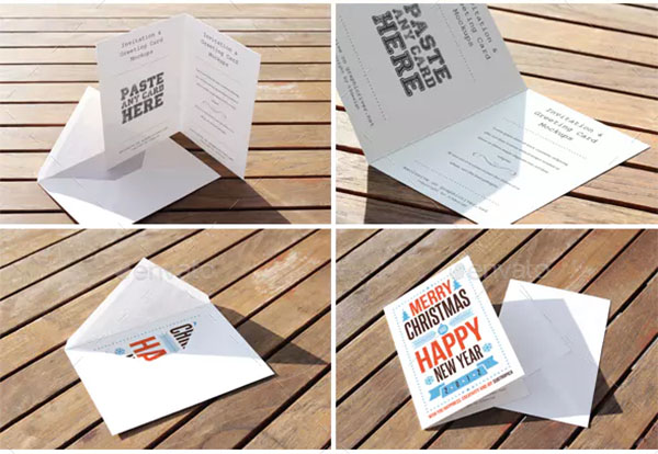 Greeting Card Mockup Bundle