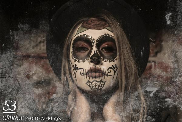 Grunge Photo Photoshop Overlays