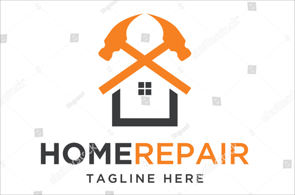 Home Repair, Construction Design Logo Template