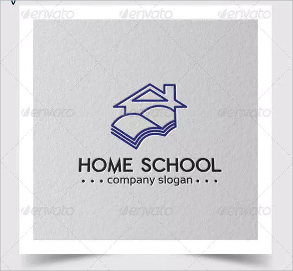 Home School Logo Template