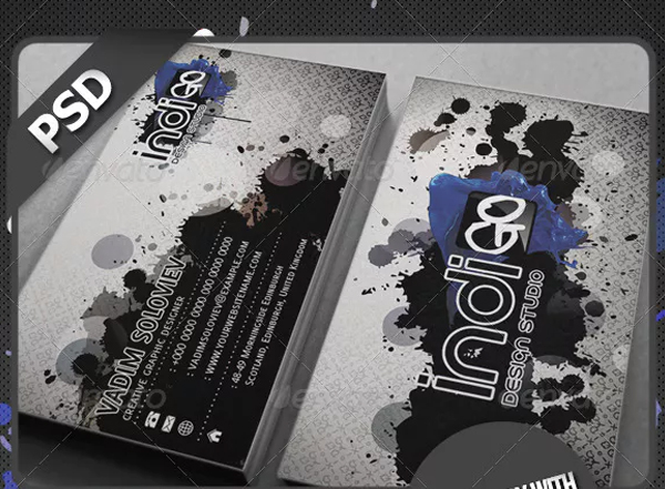 Indigo Studio Business Card
