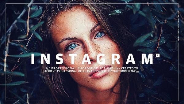 Instagram Photoshop Actions