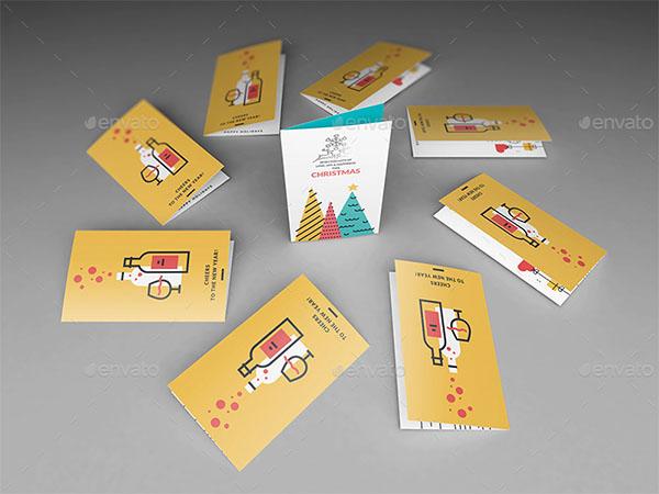 Invitation and Greeting Card Mockup Design