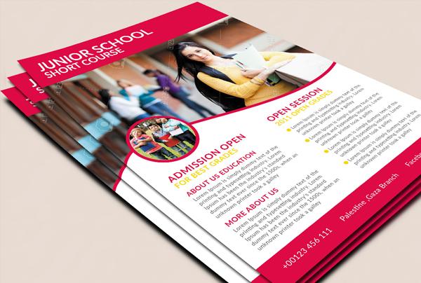 Junior School Promotion Book Flyer