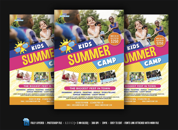 Kids Fest Flyer Template