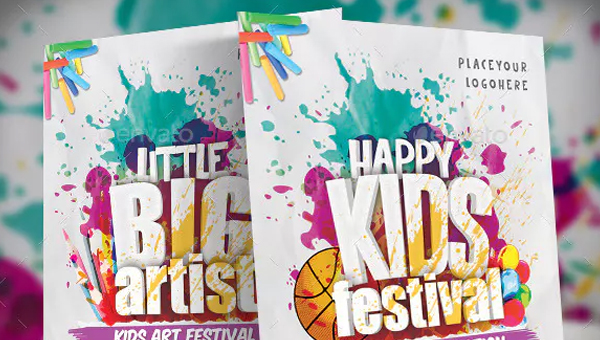 Kids Festival Flyer Templates
