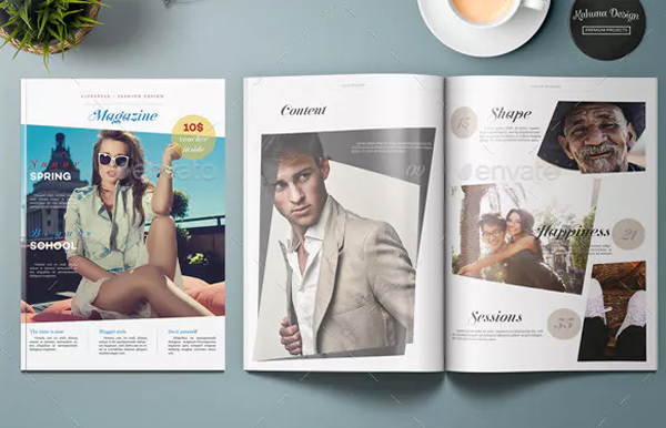 Lifestyle & Fashion Magazine Design