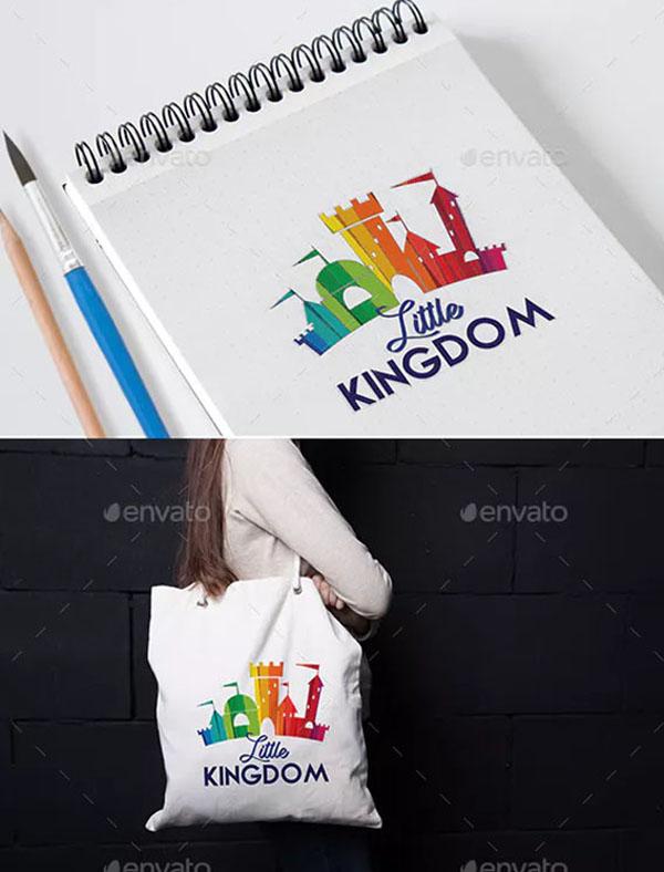 Little Kingdom Logo Template