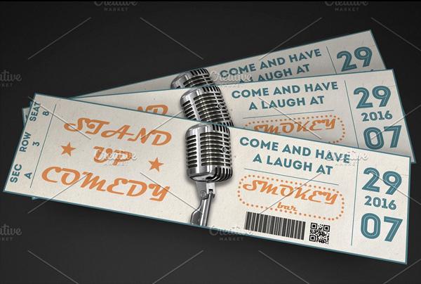 Multipurpose Event Ticket Template