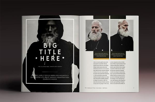 Multipurpose Magazine Indesign Template