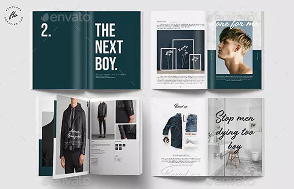 Fashion Magazine & Lookbook Template