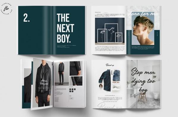 Boy Fashion Magazine & Lookbook