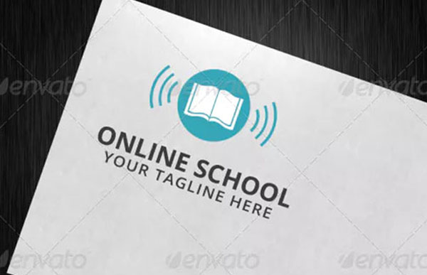 Online School Logo Template