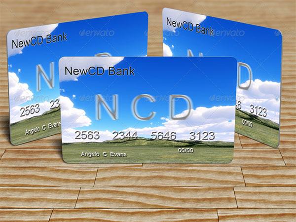 PSD Credit Card Mock-up