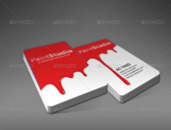 Paint Studio Business Card