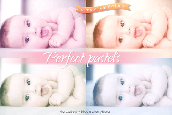 Perfect Pastel Actions