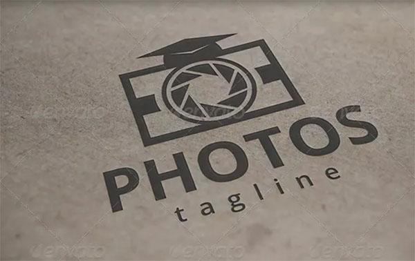 Photo School Logo Template