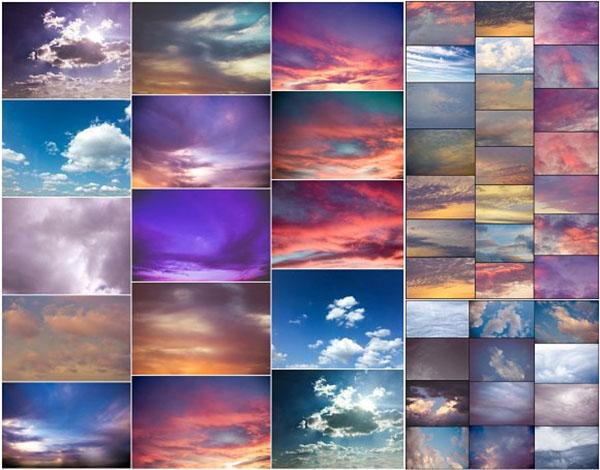 PhotoShop Sky & Cloud Overlays
