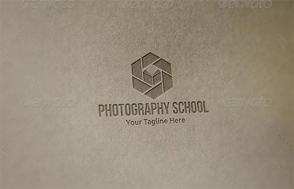 Photography School Logo Template