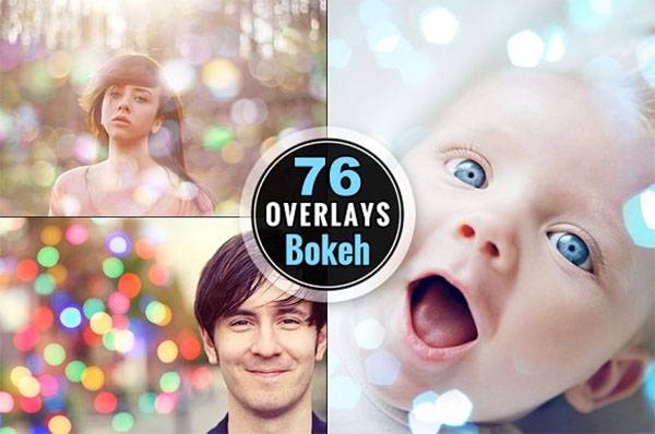 Photoshop Overlays Bokeh Photo