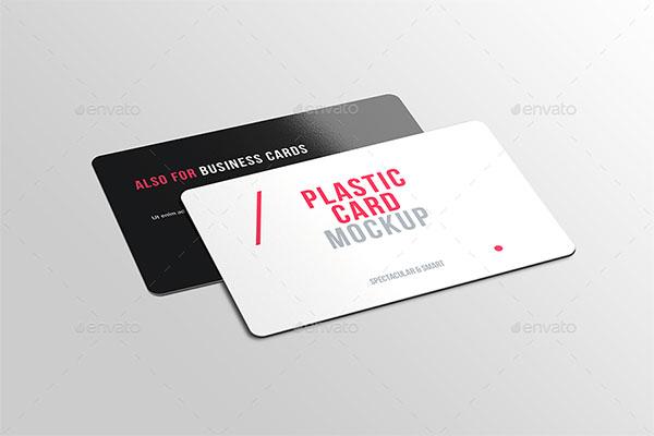 Plastic Credit Card Mockups