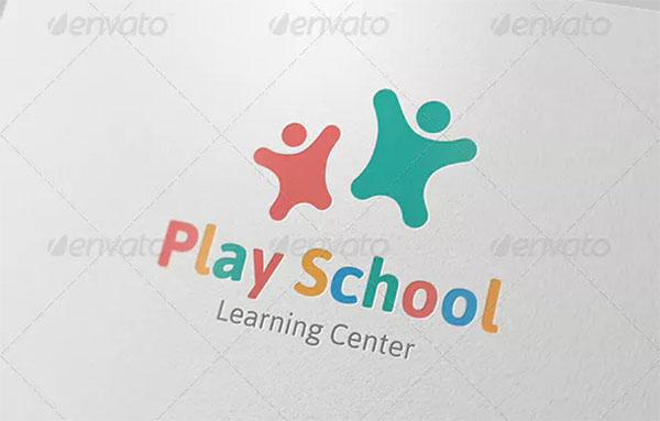 Play School Logo Template