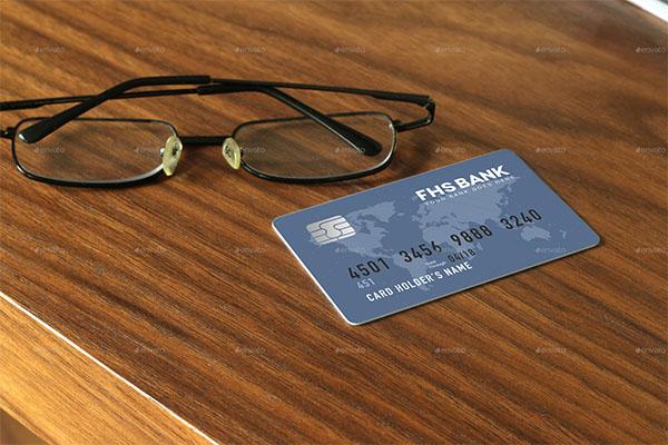 Print Credit Card Mockup