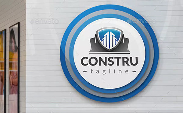 Printable Construction Logo Template