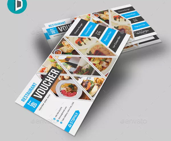Printable Food Gift Voucher Template