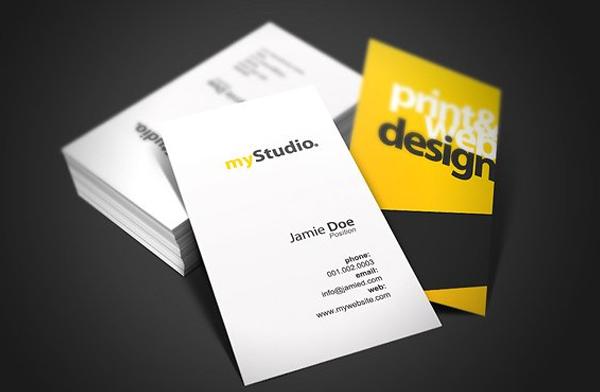 Printable Studio Business Card