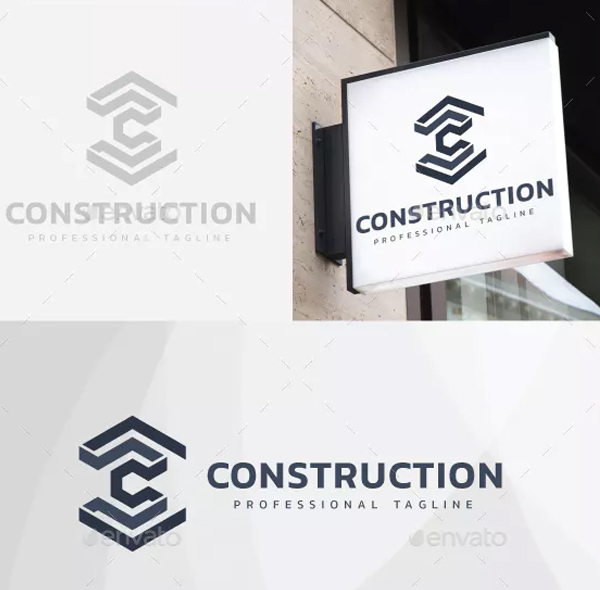 Professional Construction Logo Design