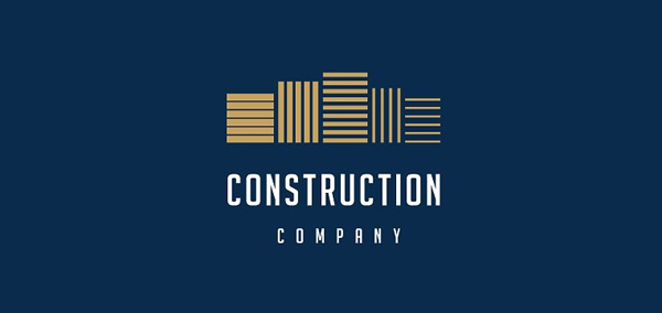 Professional Construction Logo Template