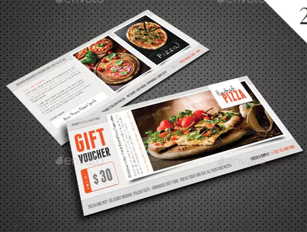 Restaurant Food Gift Voucher Bundle