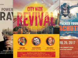 Revival Flyer Templates
