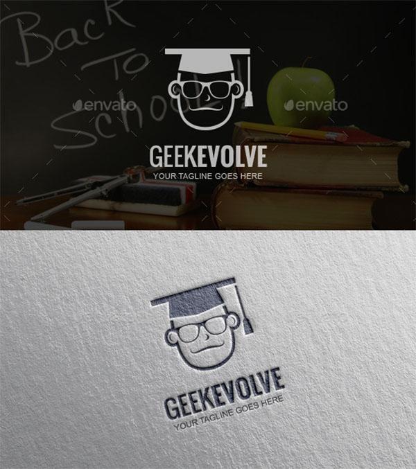 School Logo Template Design