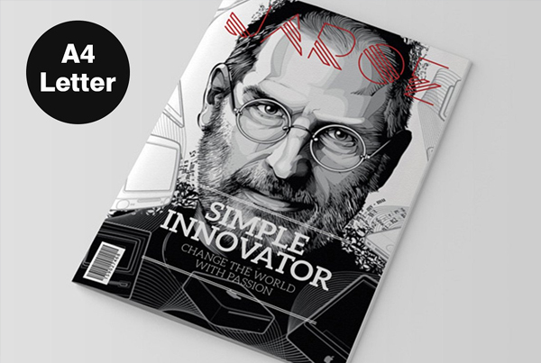 Simple InDesign Magazine Template