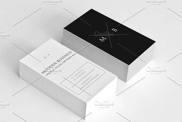 Simple Modern Studio Business Card