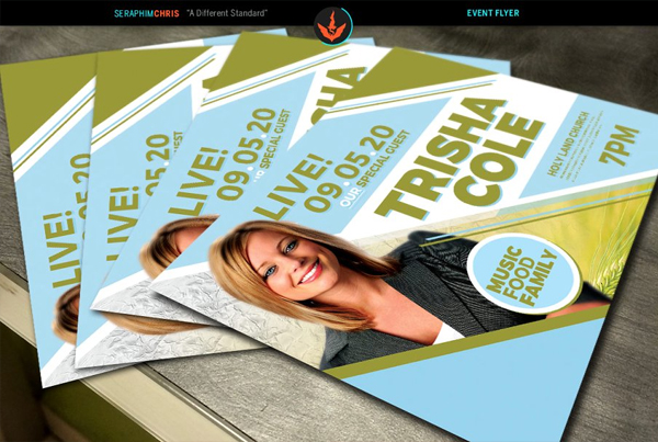 Special Guest Church Promotion Book Flyer Template