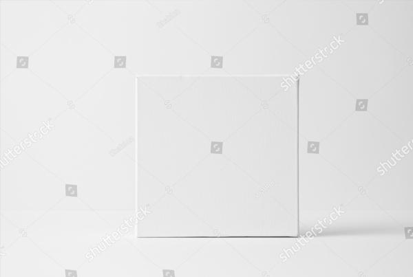 Square Art Canvas Mock-Up