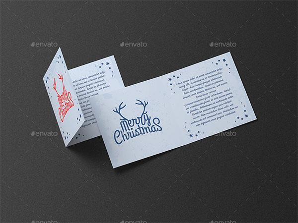 Greeting Card and Invitation Square Mockup