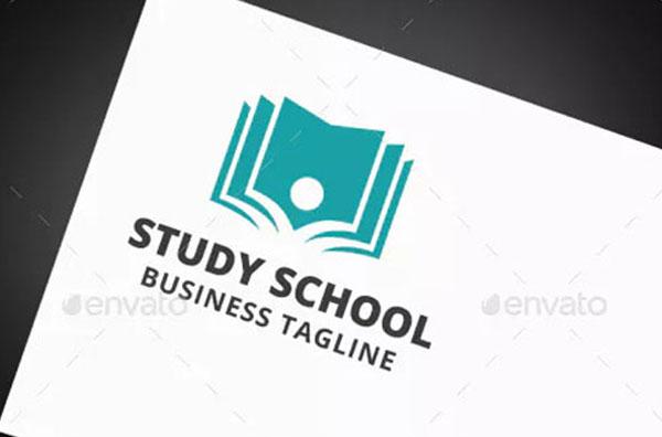 Study School Logo Template