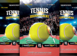 Tennis Flyer Templates