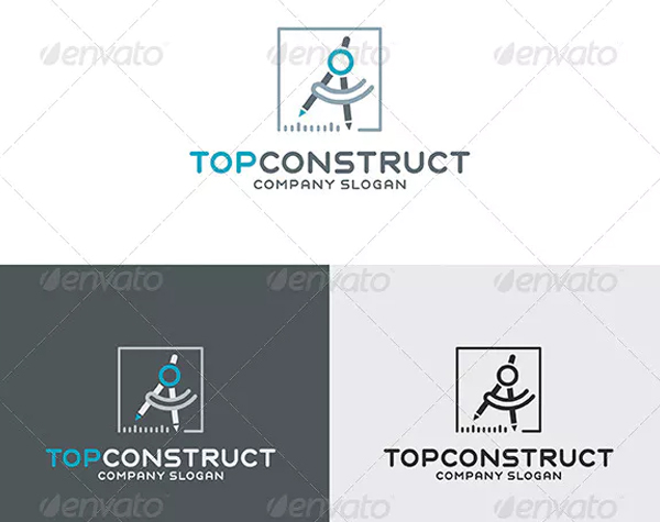 Top Construct Logo Design