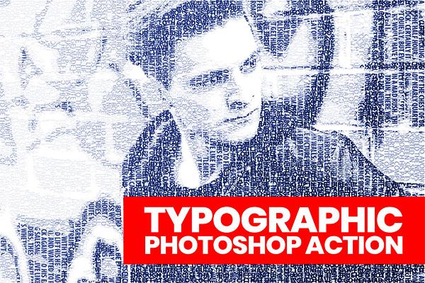 Typographic Photoshop Actions