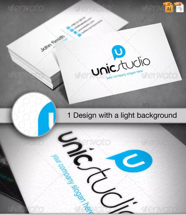 Unic Studio Business Card Design