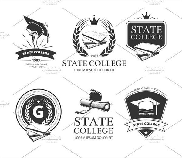 University and School Emblems Logo Template