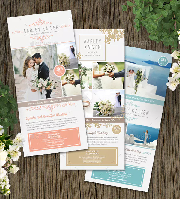 Wedding Photography Rack Cards